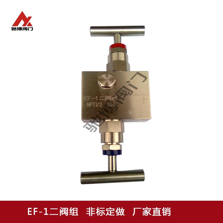 EF-1二阀组/EF-1高压高温二阀组/不锈钢针型二阀组